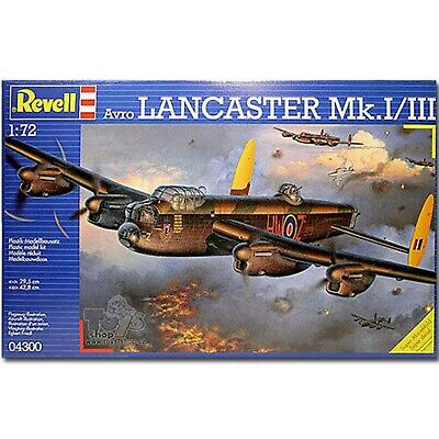 Model Aircraft Avro Lancaster Bomber Mk.I/III  1:72 SCALE NEW • 28£