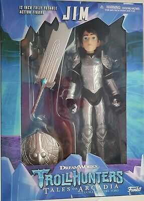 Trollhunters Tales Of Arcadia  Jim  12 Inch Fully Posable Action Figure Funko  • 14.99£