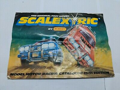 Vintage Scalextric  Catalogue 25th Edition 1983 • 5£