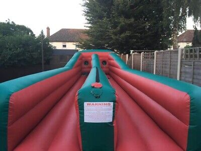 35ft Inflatable Bungee Run • 550£