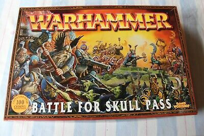 Games Workshop Warhammer Battle For Skull Pass Fantasy BOX ONLY Outer GW OOP • 29.99£