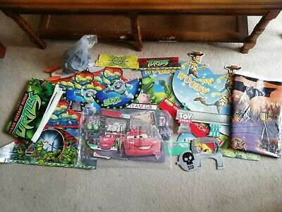Micro Scalextric Track Mats Scenery Accessories Bundle Disney Cars Toy Story • 10£