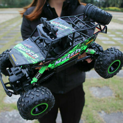 37cm 4WD Large Remote Control RC Cars Rock Crawler Monster Truck Kids Toy Gift • 33.99£