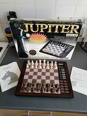 Vintage Jupiter Deluxe Electronic Chess Set  • 18.99£