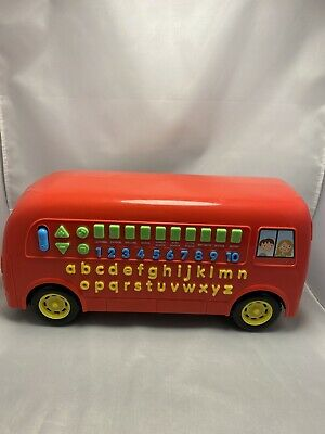 Carousel Talking Phonics, Numbers Electronic Bus Educational Learning Working • 9.99£