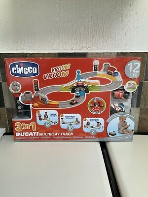NEW Chicco Ducati 3 In 1 Multiplay Race Track In Box • 44.99£