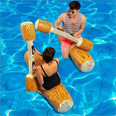 LONEEDY 2 Pcs Set Inflatable Floating Row Toys, Adult Children Pool Party Water • 43.88£