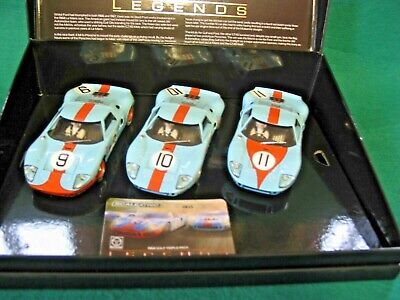 Scalextric C3896a 1968  Collection Gulf Triple Pack Ltd Ed Bnib • 105£
