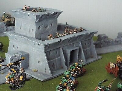 Final Defence: Scratch Built 28mm Tabletop Wargame Scenery. Command Bunker • 35£
