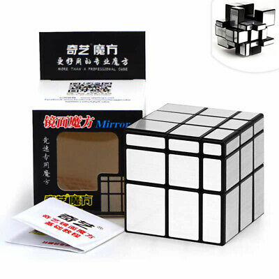 QiYi Magic MIRROR Cube Speed Cube 3x3 Smooth Magic Puzzle Game Adult Mind Game • 5.95£