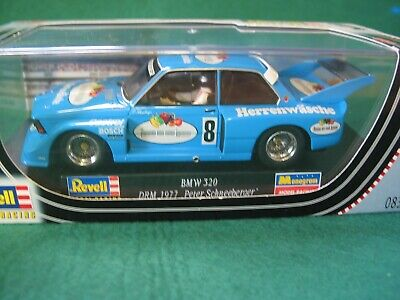 Revell  08379 BMW 320 1977 BLUE #8  SCALEXTRIC COMPATIBLE  BNIB   • 36.99£