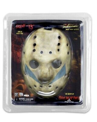 Friday The 13th Part 5 A New Beginning Jason Mask Prop Replica NECA • 42.99£