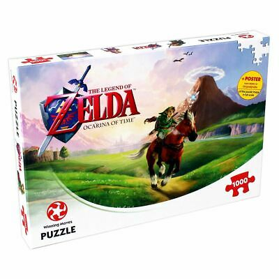 Legend Of Zelda Ocarina Of Time 1000 Piece Jigsaw Puzzle • 12.99£