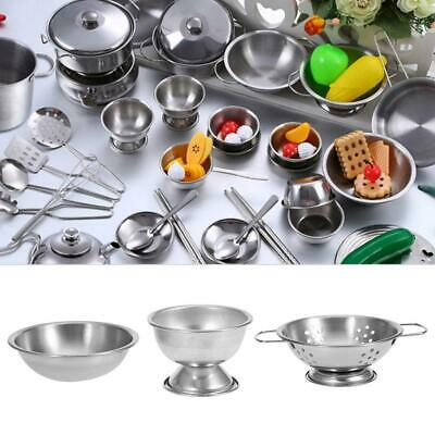 New 16PCS Kid Play House Kitchen Toy Cookware Cooking Utensils Pots Pans Gift • 14.35£