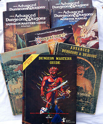 Advanced Dungeons And Dragons. RARE 1st Edition Hard Backs. AD&D Multi-Listing • 30£