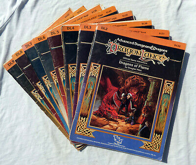 Advanced Dungeons & Dragons Dragonlance Modules. 1st Edition AD&D. Multi-Listing • 10£