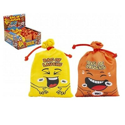 Novelty Bag Of Laughs Battery Operated Novelty Gadget Noisy Joke Sound Machine • 2.99£
