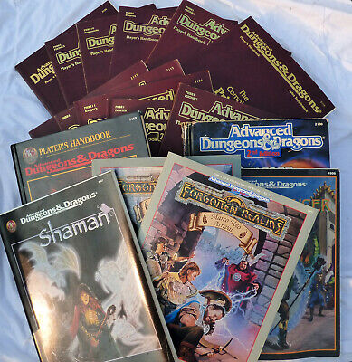 Advanced Dungeons And Dragons. 2nd Edition Books HB & SB. AD&D Multi-Listing • 15£
