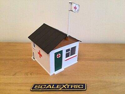 Scalextric Rare Vintage First Aid Hut   - A211 Excellent Condition  • 24.95£