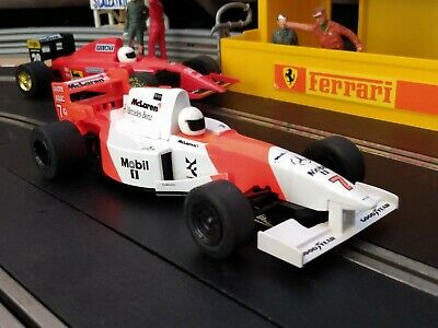 Beautiful Scalextric C585 McLaren Mercedes MP4/10 #8 F1 SERVICED New Rear Tyres • 9.50£