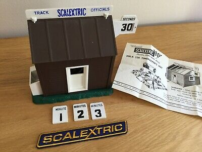 Scalextric Rare Vintage Timekeepers Hut   - A238 Excellent Condition  • 64.95£