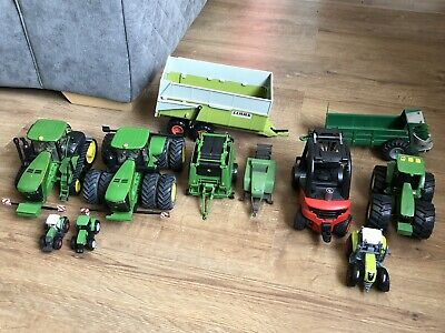 Assorted Die Cast Tractor And Trailor Toys John Deere • 38£