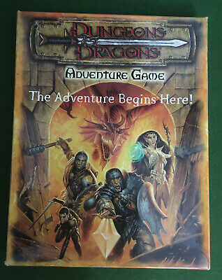 DUNGEONS & DRAGONS ADVENTURE GAME 1st EDITION - The Adventure Begins Here - TSR • 16£