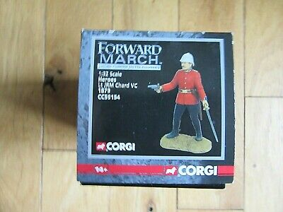 Lt JRM CHARD VC, Corgi Forward March 1;32 Scale • 15£