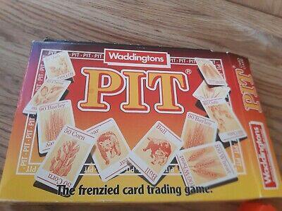 Vintage 1983 Card Game PIT By Waddingtons  • 8£
