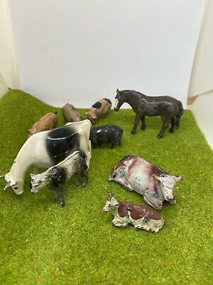 Vintage Toy Metal Farm Animals Various Brands • 5£