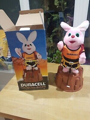 """Vintage Duracell Mountain Bunny 17"""" Collectible Toy + Original Box *batteries* • 1.99£"""