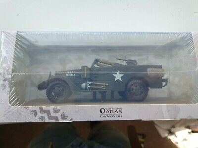 Atlas Editions 1/43 M3 Scout Car Diecast Military Vehicle Model *UNOPENED* • 6£