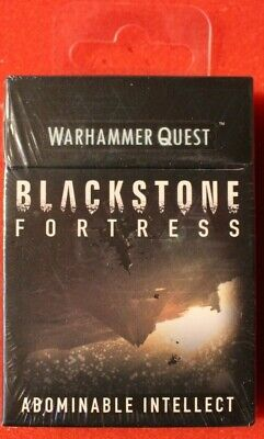 Games Workshop Warhammer Quest Abominable Intellect Blackstone Fortress Cards GW • 109.99£