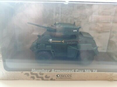 Boxed Atlas Editions 1:43 Humber Armoured Car Mk Iv New Sealed • 2£