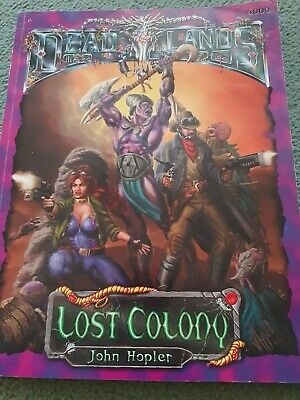 Deadlands Lost Colony Roleplaying Game RPG  • 5£