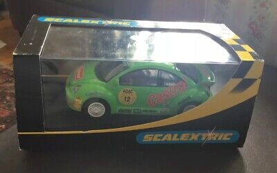 Scalextric VW Green Beetle Castrol No 12. C2337. New • 20£