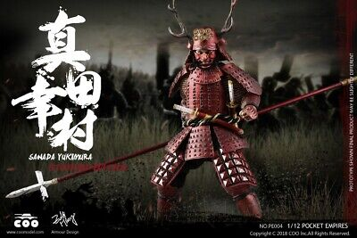 Sanada Yukimura (Standard Edition) PE004 - Palm Empires 1/12 Figure By Coomodel • 100£