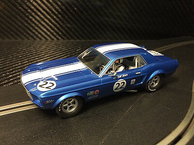 Pioneer Slot Car New Unboxed Trans-am Mustang - Compatible With Scalextric Dpr • 23£