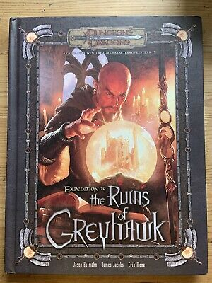 Expedition To The Ruins Of Greyhawk  D&D Dungeon And & Dragons Adventure Book • 35£