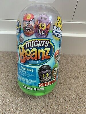 Mighty Beanz Slam Pack New • 5£