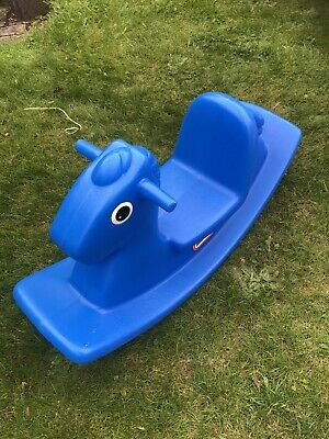 Little Tikes/Tykes BLUE Rocking Horse - Fun Item, Can Post • 9.99£