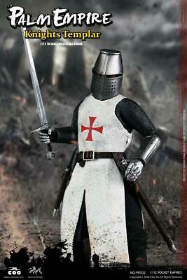 Templar Knight PE002 - Palm Empires 1/12 Figure By Coomodel • 100£