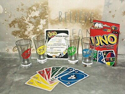 Drunk UNO, Adult Drinking Game, Uno Inspired Game • 13£