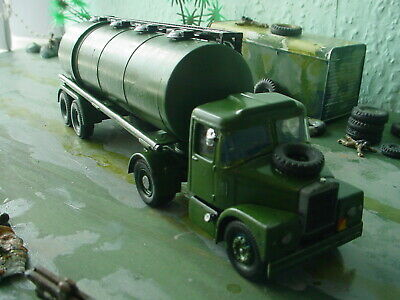 Corgi Military Army Scammell Fuel Tanker Code3 • 22.50£