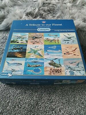Jigsaw Puzzles 1000 A Tribute To Our Finest. Planes.  • 2£