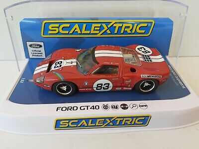 Ford Gt40 Red #83 C4152 Scalextric Bn Mb • 39.99£