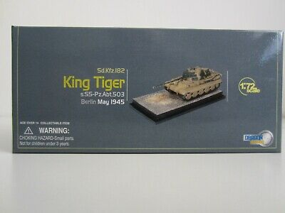 Dragon Cyber-hobby Exclusive King Tiger Berlin May 1945 1:72 • 0.99£