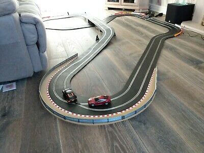 LOVELY Scalextric SPORT Everything Included 2 FAST Cars GREAT WORKING ORDER • 26.50£