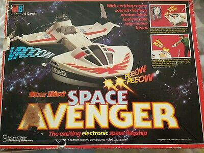 Vintage MB Electronics Electronic Star Bird / Space Ship - Retro -WORKING BOXED • 87£