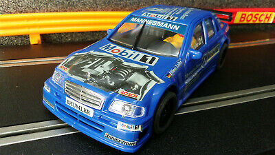 SCALEXTRIC NINCO 50131 AMG MERCEDES C-CLASS   Slot Car Rare Blue No 21  New • 29.95£